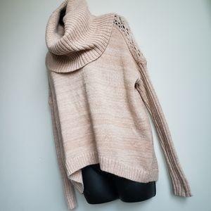 Moda International Turtleneck Knit Sweater
